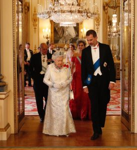 12 July 2017: State Visit from Spain, State Banquet