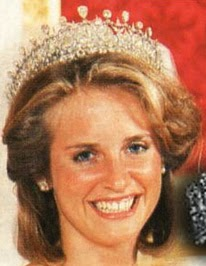 Lady Alexandra Clare wore this tiara when she married her husband, Mark Etherington.