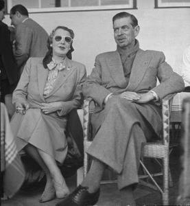 Magda Lupescu and Carol II of Romania