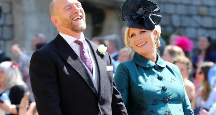 Zara Phillips Pregnant with Lena