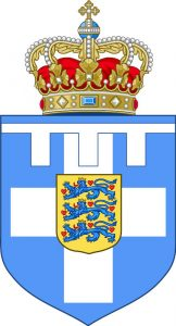 Standard and Arms of the Crown Prince of Greece